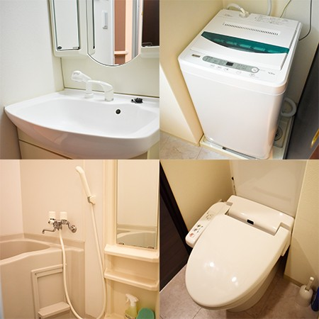 水回り設備です。温水洗浄便座♪