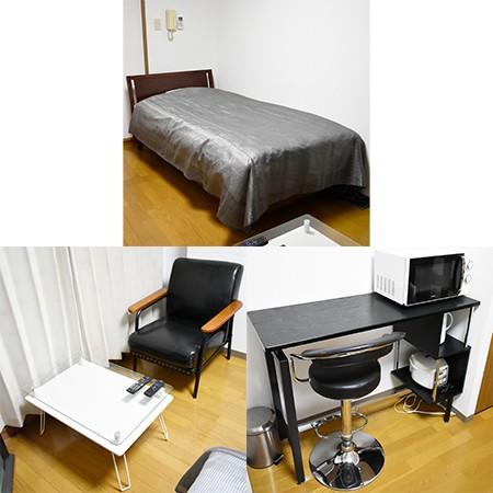家具家電設備です。