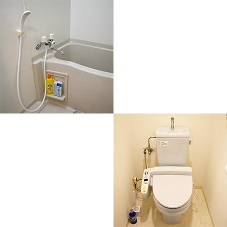水回り設備です②。温水洗浄便座♪