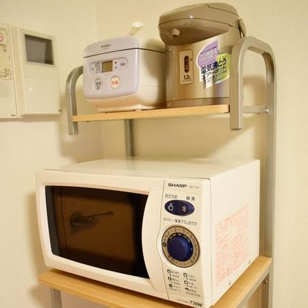 調理家電、電子レンジ・ポット・炊飯器